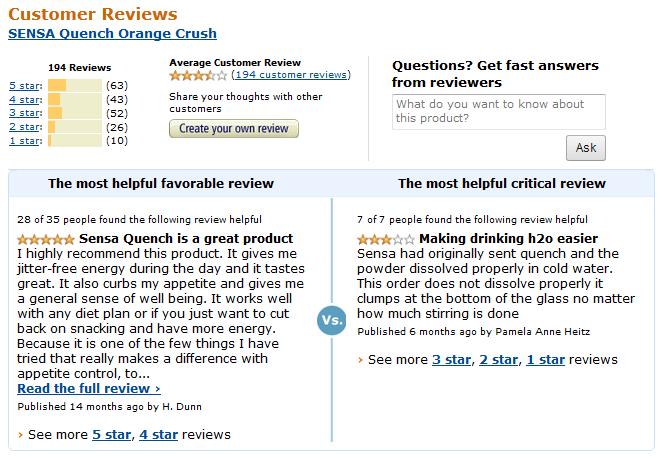 sensa-quench-reviews